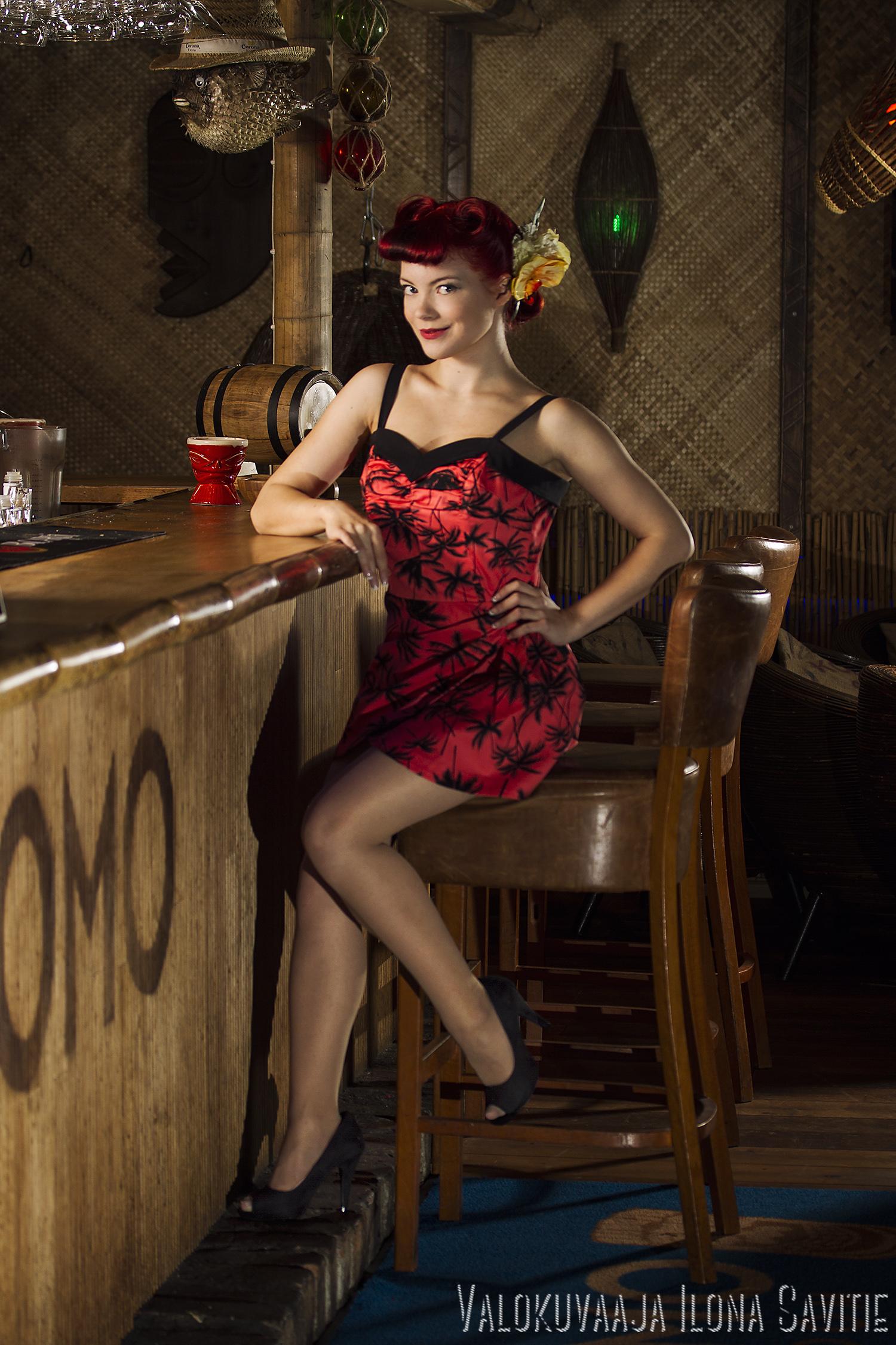 Viva Las Vegas Pin-up Contest Molla la Donna by Ilona Savitie